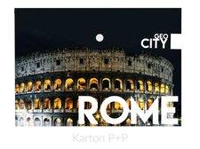 Karton P+P Psaníčko s drukem A4 s tiskem GEO CITY Rome
