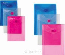 Karton P+P Psaníčko s drukem A6 na výšku Opaline růžová