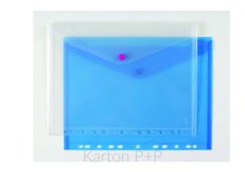 Karton P+P Psaníčko s drukem A4 eurozávěs modrá
