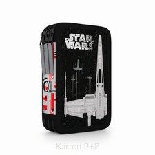 Karton P+P Penál 3 p. prázdný Star Wars