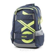 Karton P+P Studentský batoh OXY Sport BLUE LINE Green 3-27718