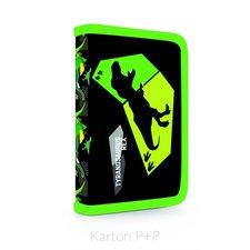 Karton P+P Penál 1 p. s chlopní, naplněný T-rex