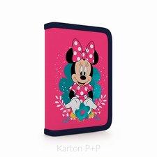 Karton P+P Penál 1 p. 2 chlopně, prázdný Minnie 3-56418