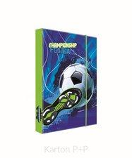 Karton P+P Box na sešity A4 fotbal