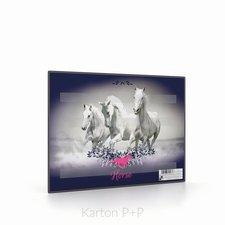 Karton P+P Podložka na sestavování slov kůň