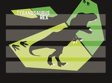 Karton P+P Podložka na sestavování slov T-rex
