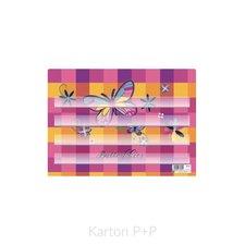 Karton P+P Podložka na sestavování slov motýl