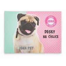 Desky na číslice ISHA - My love Pet