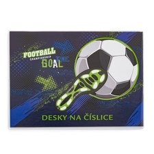 Desky na číslice fotbal