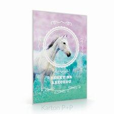 Karton P+P Desky na ABC kůň romantic
