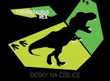 Karton P+P Desky na číslice T-rex