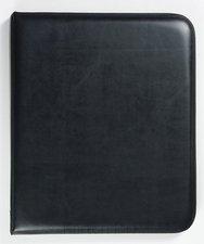 Karton P+P Diplomatka A4 mat černá mech. jednodeska