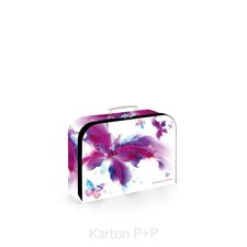 Karton P+P Kufřík lamino 34 cm Romantic Nature Motýl 5-65818