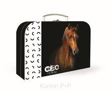Karton P+P Kufřík lamino 34 cm GEO WILD kůň 5-65918