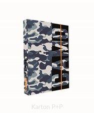 Karton P+P Box na sešity A4 Army 5-69118