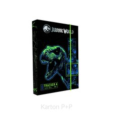 Karton P+P Box na sešity A4 Jurassic World