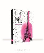 Box na sešity A4 Jumbo Romantic Nature Paris 5-71518