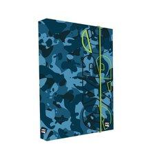 Box na sešity A4 Jumbo Camo blue