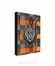 Karton P+P Box na sešity A4 vlk