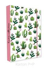 Karton P+P Box na sešity A4 kaktus