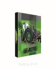 Karton P+P Box na sešity A5 traktor