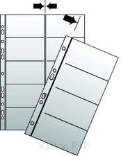 Karton P+P Náhradní list do kroužkového vizitkáře A4