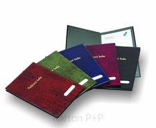 Karton P+P Podpisová kniha lesk černá