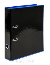 Karton P+P Pořadač A4 lamino páka 7cm REVERSE BLACK LINE modrá