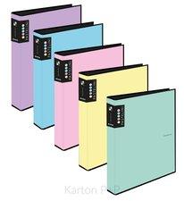 Karton P+P Pořadač A4 lamino R25-4kr. PASTELINI modrá