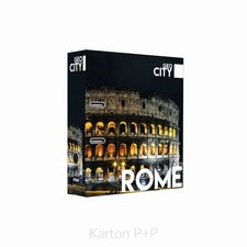 Karton P+P Pořadač A4 lamino páka 7cm GEO CITY Rome