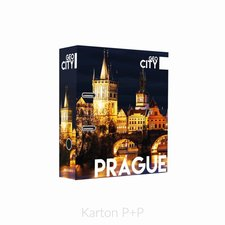 Karton P+P Pořadač A4 lamino páka 7cm GEO CITY Prague