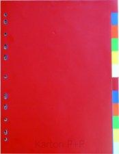 Karton P+P Rozdružovač A4, 2x6 barev PP 120my