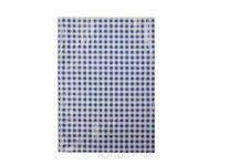 Karton P+P Ubrus do výtvarné výchovy 65x50cm modro-bílé kostky