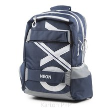 Karton P+P Studentský batoh OXY Sport BLUE LINE White 7-70718