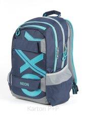 Studentský batoh OXY Sport BLUE LINE Tyrkys 7-72518