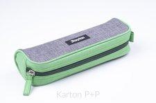 Karton P+P Etue OXYBAG velká šedo-zelená