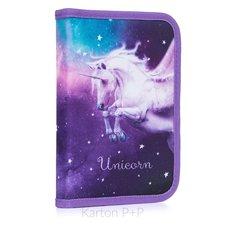 Karton P+P Penál 1 p. s chlopní, naplněný Unicorn 2