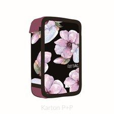Karton P+P Penál 3 p. prázdný OXY Floral