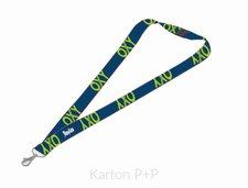 Karton P+P Klíčenka s karabinkou OXY BLUE LINE Green 7-94718