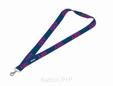 Karton P+P Klíčenka s karabinkou OXY BLUE LINE Pink 7-94818