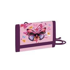 Dětská textilní peněženka Motýl
