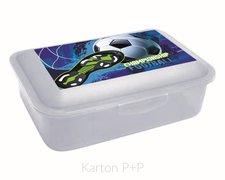 Karton P+P Box na svačinu fotbal