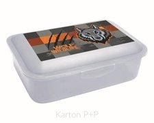 Karton P+P Box na svačinu vlk