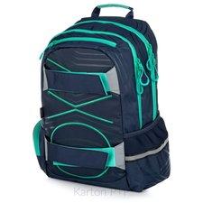 Karton P+P Studentský batoh OXY Sport PASTEL LINE green