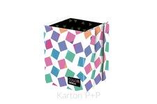 Karton P+P Kelímek na tužky lamino Cubes 8-00618