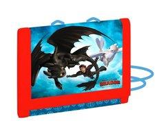 Dětská textilní peněženka Jak vycvičit draka