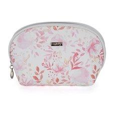 Kosmetická taška kulatá Pink flowers