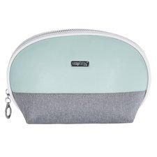 Kosmetická taška kulatá Grey mentol
