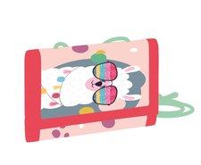 Dětská textilní peněženka Lama
