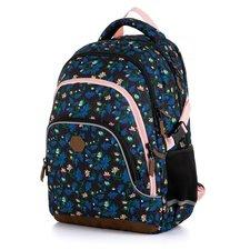 Školní batoh OXY SCOOLER Magnolia dark